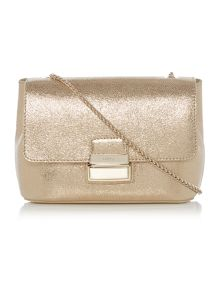 Strega gold cross body bag