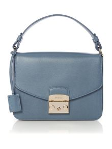 Furla Metropilis grey shoulder bag