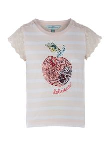 Little Dickins & Jones Girls Apple tee