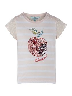 Girls Apple tee