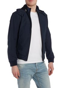 Armani Jeans Short Length Hooded Zip Up Jacket