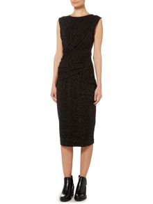 Label Lab Lucy wrap waist jersey dress