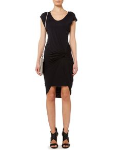 Layla double layer jersey dress
