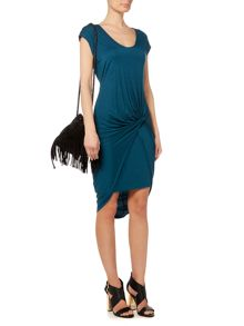 Label Lab Layla double layer jersey dress