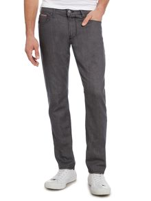 J06 Slim Fit Solid Grey Jeans