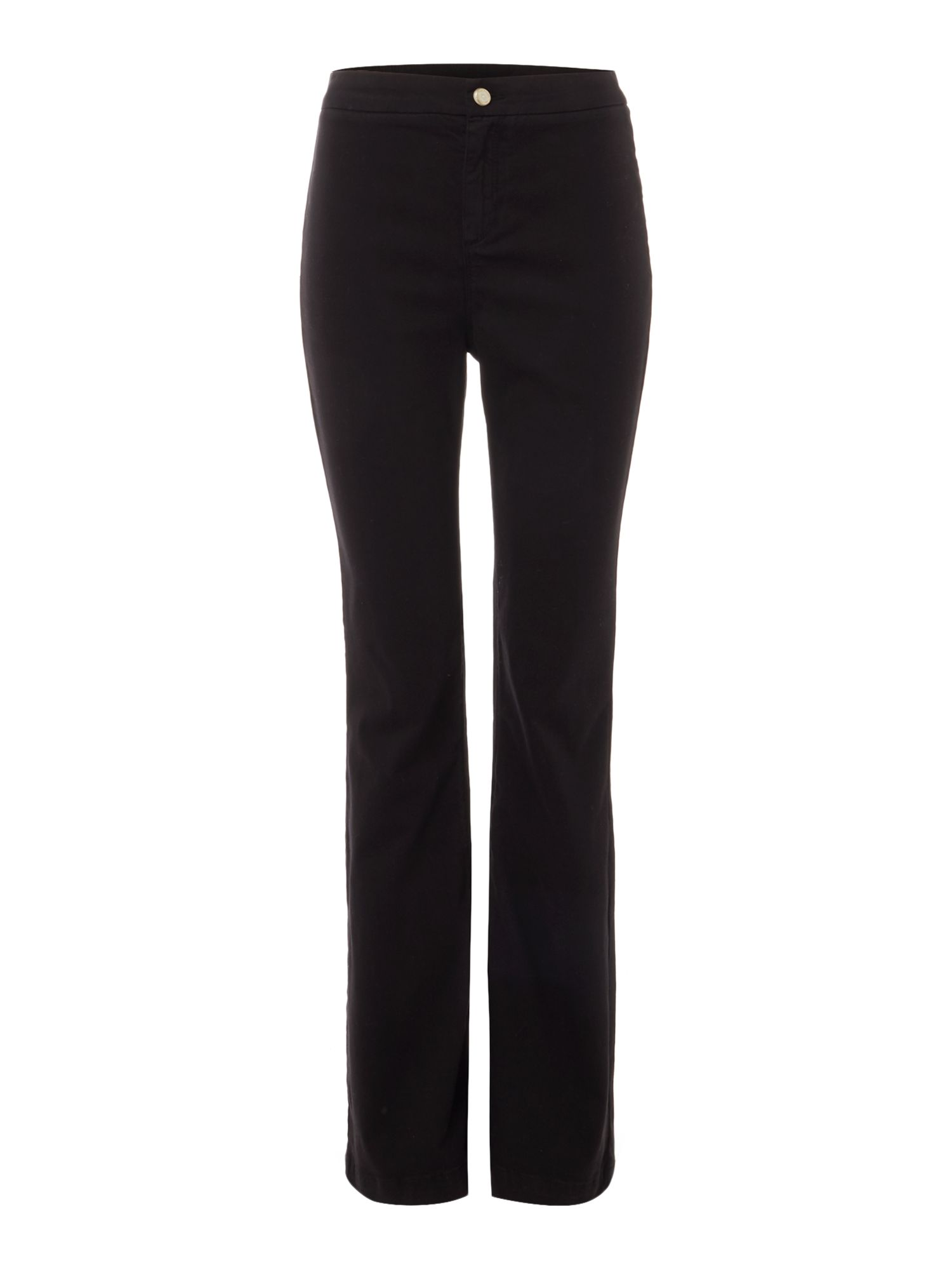 Pied a Terre Pied a Terre Twill Flare Jean, Black