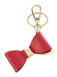 Venus red bow key ring