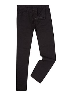 Men's Armani Jeans J45 Tapered Slim Fit Black