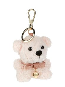 Furlove light pink teddy key ring