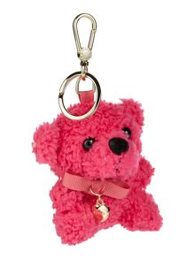 Furla Furlove pink teddy key ring