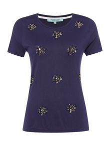 Dickins & Jones Jersey Cluster Top
