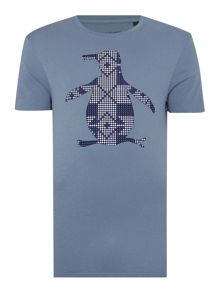 Original Penguin Cross stitch short sleeve pete tee