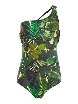 Kuranda asymmetric swimsuit