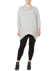 Label Lab Plus size slouch polo