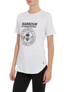 Barbour International Delter cotton T shirt