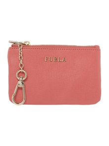 Furla Babylon pink key case