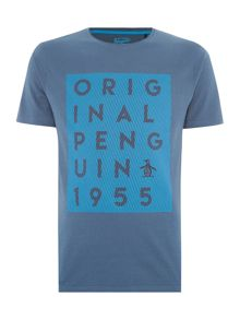 Original Penguin Trestle printed tee
