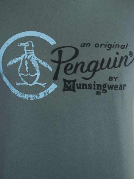 Original Penguin Pete the penguin print tee