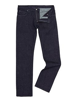 Men's Armani Jeans J45 Tapered Slim Fit Dark