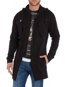 Religion Lightweight hooded parka jacket