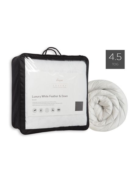 Luxury Hotel Collection Feather & down duvet 4.5 TOG