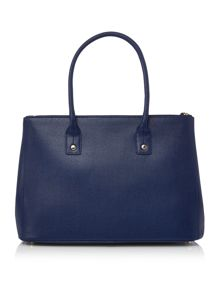 Furla Linda navy large tote bag