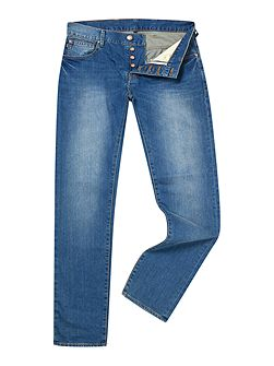 Men's Armani Jeans J28 Slim Fit Light-Mid Wash
