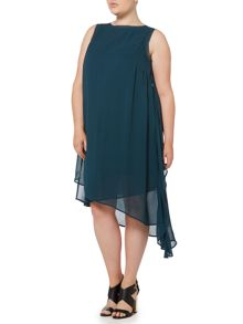Label Lab Plus size layered sleeveless dress