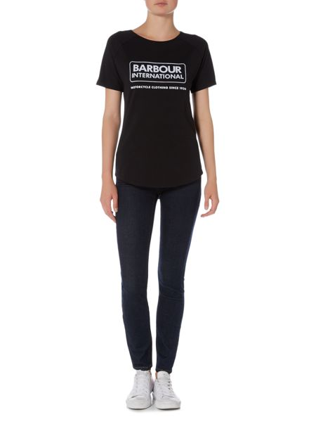 Barbour International Scrambler skinny jeans