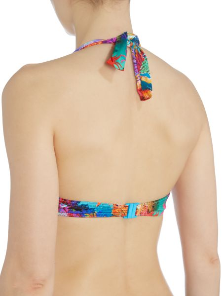 Freya Under the sea banded halter bikini top