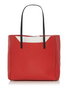 Furla Fantasia red medium tote bag