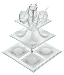 3 tier 23 piece appetiser gift set