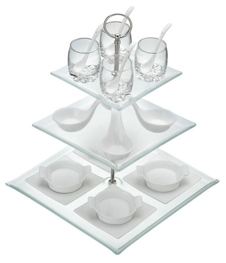 Kitchen Craft 3 tier 23 piece appetiser gift set