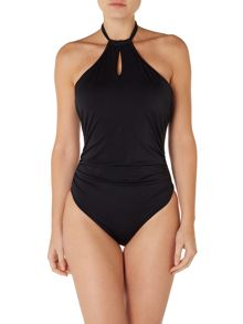 Freya Remix high neck cutout swimsuit