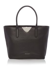 Coccinelle Linea b14 black large ew tote bag
