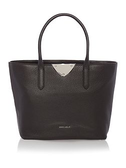 Linea b14 black large ew tote bag