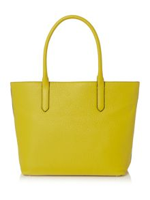Coccinelle Linea b14 yellow large ew tote bag
