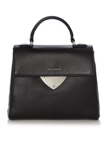 Coccinelle Linea b14 black medium satchel bag