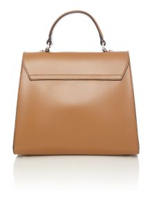 Coccinelle Linea b14 design tan medium satchel bag