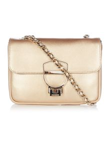 Coccinelle Lorelle gold small crossbody bag