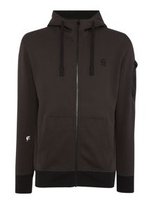G-Star Kendo zip through hoodie