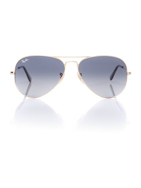 Ray-Ban 0rb3025 aviator large metal sunglasses