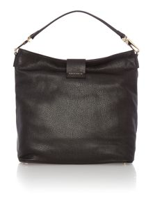 Coccinelle Arlettis black hobo bag