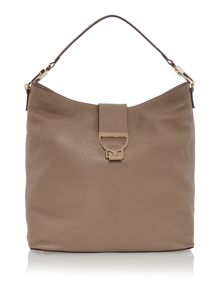 Coccinelle Arlettis neutral hobo bag