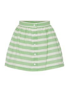 Benetton Girls Glitter skirt with button