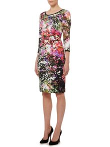 Pied a Terre Printed Jersey Tube Dress
