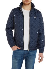 G-Star Meefid regular fit quilted overshirt
