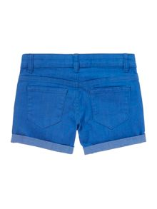 Benetton Girls Coloured denim shorts