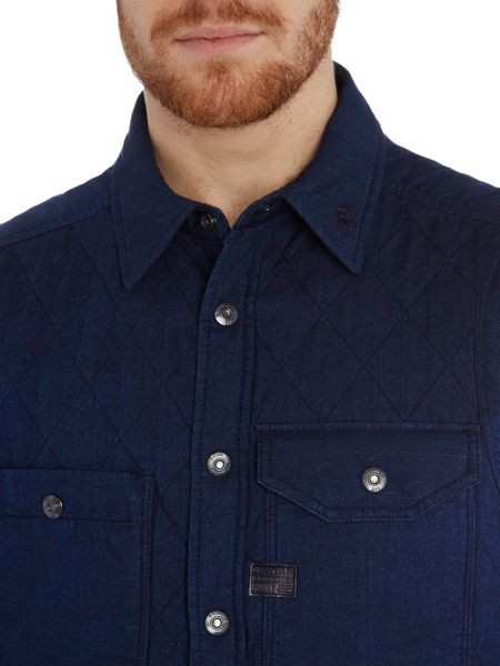 G-Star Wolker regular fit quilted overshirt