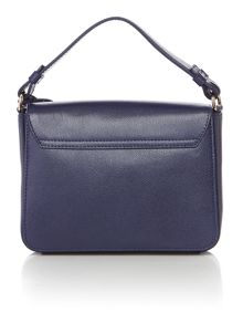 Furla Metropolis navy shoulder bag